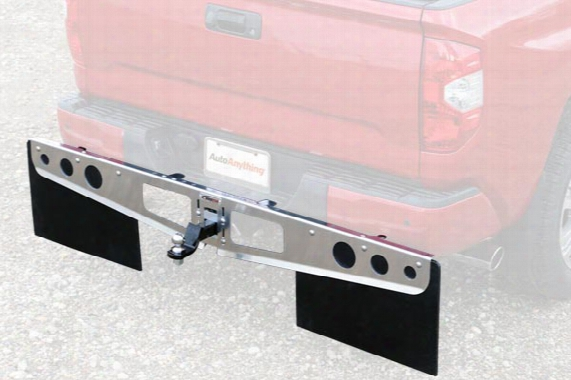 Rockstar Universal Hitch Mounted Mud Flaps