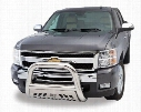 "2010 Chevy Colorado Aries Off Road Bull Bar with Skid Plate B35-4004 3"" Bull Bar"