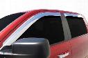 2006 Cadillac Escalade EGR Tape-On Chrome Window Visors 61524