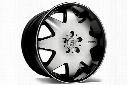 Lexani LX-2 Black Machined Wheels