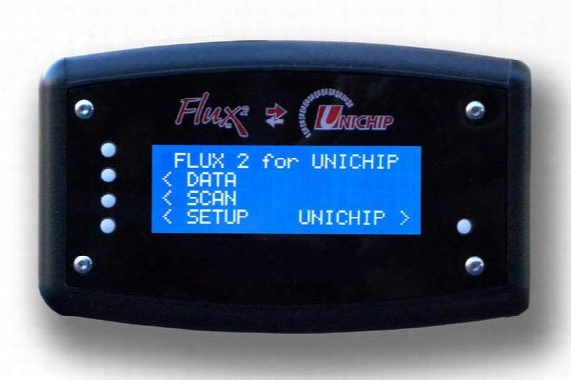 Unichip Flux2 In Car Display - Obd-ii Monitor With Boost & Egt Upgrade Kits