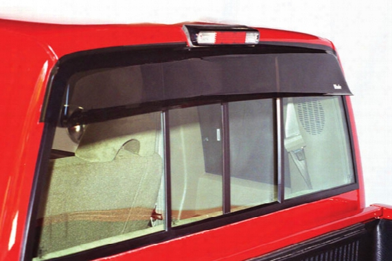 Wade Cab Guard Rear Window Deflector By Westin - Wade Cab Guard Window Deflectors
