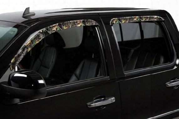 2013 Chevy Silverado Stampede Tapeonz Sidewind Camo Window Deflectors 6062-19 Front Set