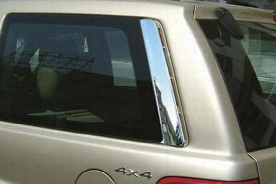 Wellstar Chrome Pillar Covers, Wellstar - Chrome Accessories - Chrome Pillar Post Trim