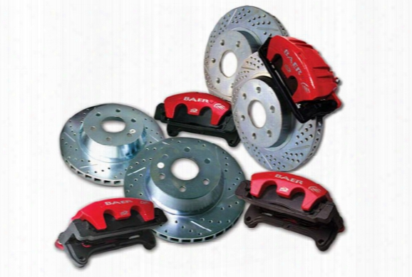 2000 Chevy Suburban Baer Aluma Sport Big Brake Kit