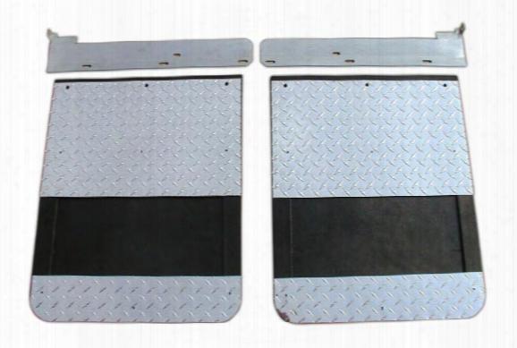 2002 Chevy Silverado Go Industries Diamond Dually Mud Flaps