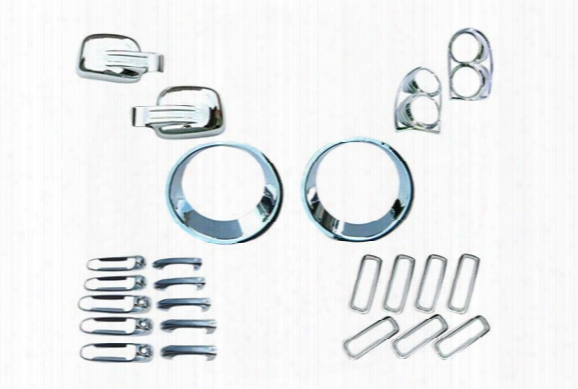 Wellstar Complete Chrome Kit, Wellstar - Chrome Accessories - Chrome Kits & Packages