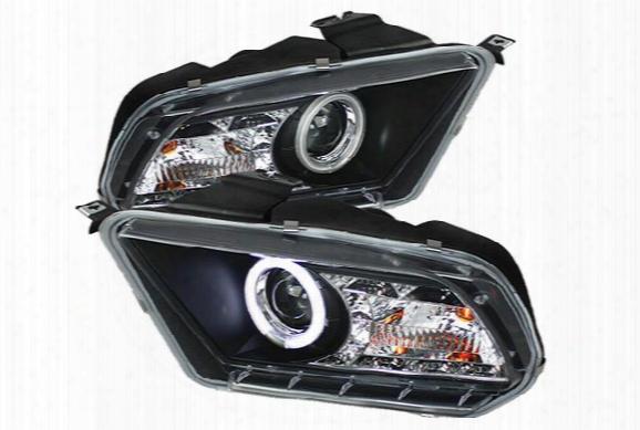 2007 Dodge Magnum Spyder Headlights Hd-jh-dmag05-am-bk Crystal Headlights - Hd-jh-dmag05-am-bk