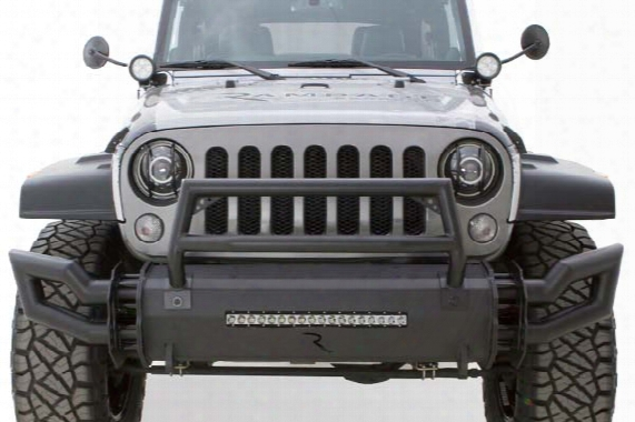 2007 Jeep Wrangler Rampage Trailram Front Bumper