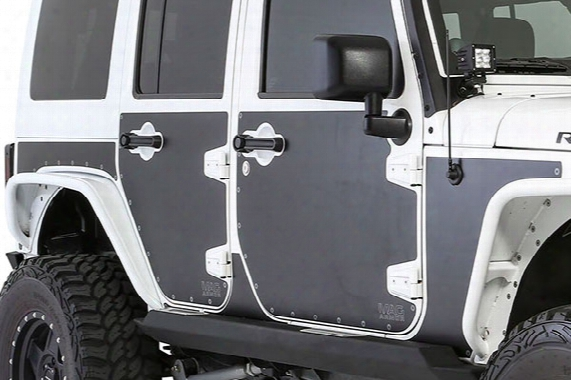 2007 Jeep Wrangler Smittybilt Mag Armor Magnetic Side Protection