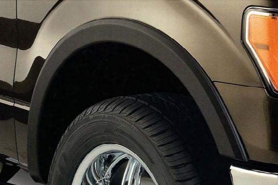 Chevy S10 Pickup Factory-style Fender Flares - Bushwacker Fender Flares - Street