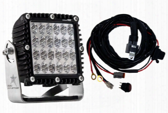 Rigid E-mark Certified Q-series Led Lights 54431em Driving Light Beam Pattern