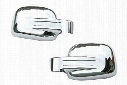 Wellstar Chrome Mirror Covers, Wellstar - Chrome Accessories - Chrome Mirror Covers