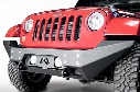 2007 Jeep Wrangler Fab Fours Full Metal Jacket Jeep Front Bumper