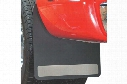 Dodge Ram Dually Mud Guards & Mud Flaps - Husky Liners Stainless Mud Guards