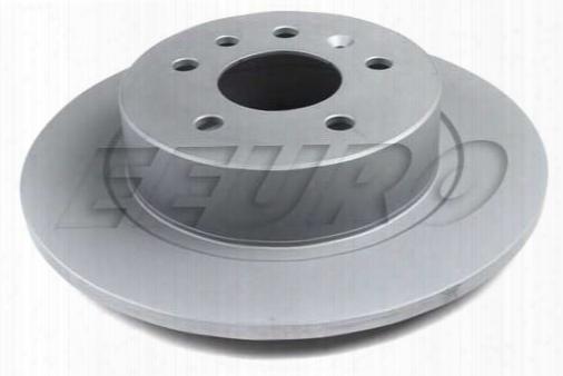 Disc Brake Rotor - Rear (286mm) - Genuine Saab 12763591