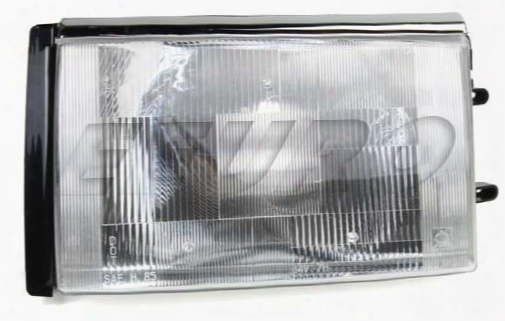 Headlight Assembly - Driver Side (haloge)n - Aftermarket 1372106