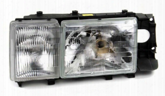 Headlight Assembly - Driver Side (halogen) - Genuine Volvo 1358540