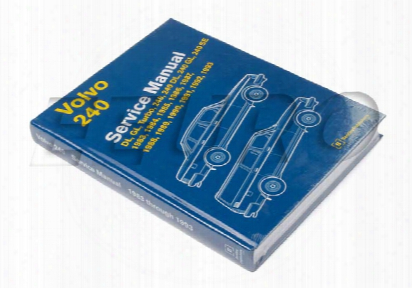 Repair Manual (volvo 240)) - Bentley