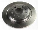 Disc Brake Rotor - Rear (284mm) - Brembo Volvo 31262094