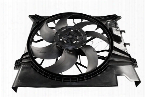 Auxiliary Cooling Fan Assembly - Genuine Volvo 31368075