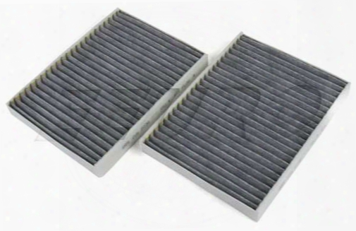 Cabin Air Filter Set (activated Charcoal) - Mann-filter Cuk27362 Bmw 64312207985