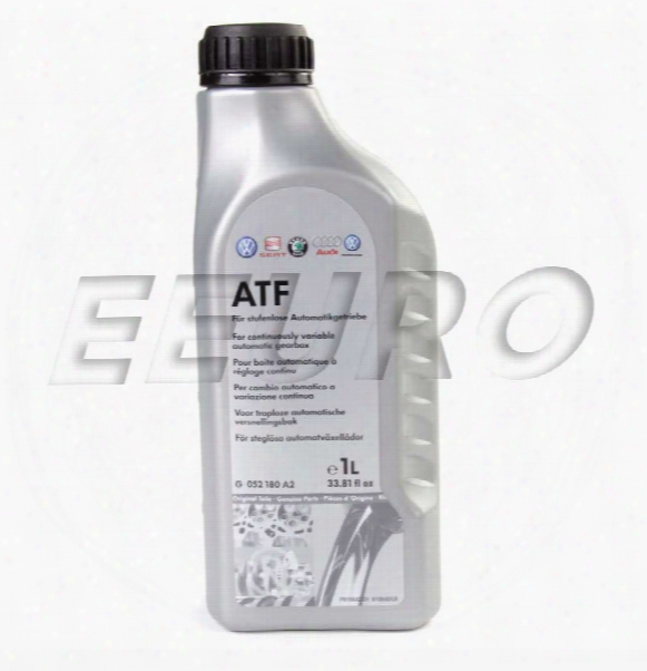 Continuously Variable Trans Fluid (cvt) (1 Liter) - Genuine Audi G052180a2
