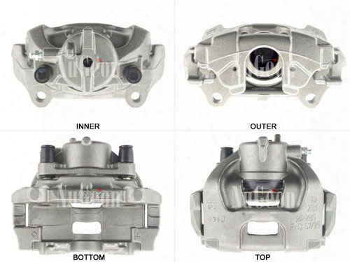 Disc Brake Caliper - Front Driver Side (285mm Rotor) - Nugeon 2209127l Saab