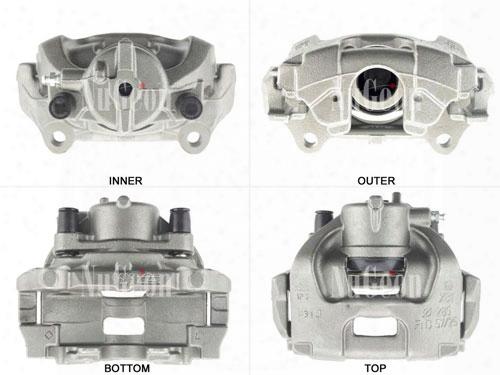 Disc Brake Caliper - Front Passenger Side (285mm Rotor) - Nugeon 2209127r Saab