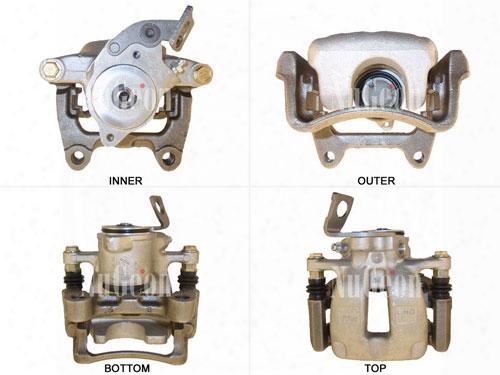 Disc Brake Caliper - Rear Passenger Side - Nugeon 2203341r Vw