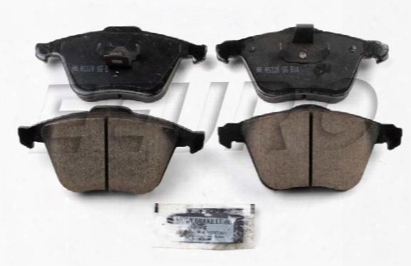 Disc Brake Pad Set - Front - Akebono Eur915a Volvo 31212184