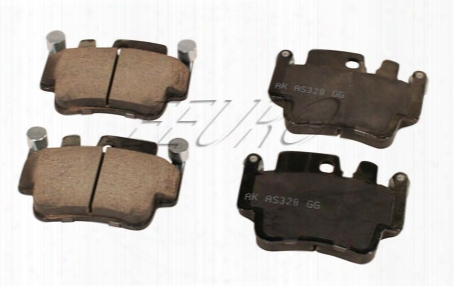 Disc Brake Pad Set - Front And Rear - Akebono Eur917 Porsche 99635294903