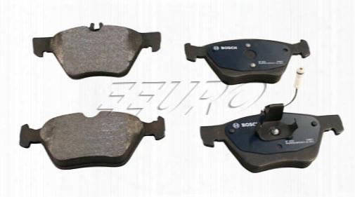 Disc Brake Pad Set - Front - Bosch Quietcast Bp853 Mercedes 004420032041