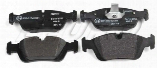 Disc Brake Pad Set - Front - Genuine Bmw 34116761244