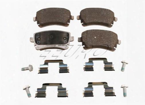 Disc Brake Pad Set - Rear - Genuine Audi 4b3698451a
