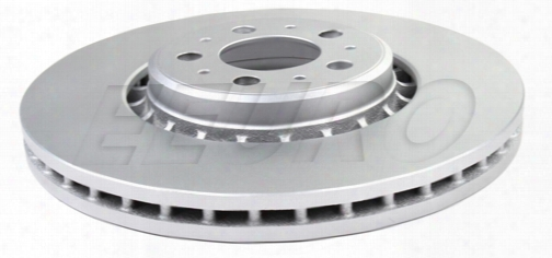 Disc Brake Rotor - Front (336mm) - Meyle Platinum 40453074 Volvo