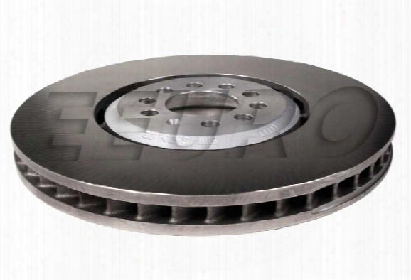 Disc Brake Rotor - Front Driver Side (334mm) - Genuine Vw 8n0615301b