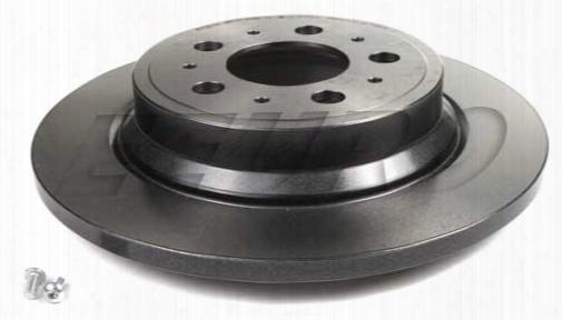 Disc Brake Rotor - Rear (288mm) - Brembo 25521 Volvo 31471821
