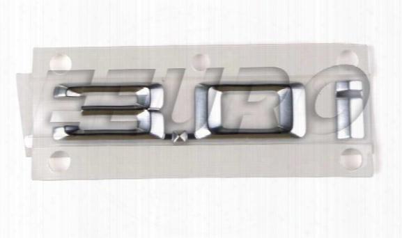 Emblem - Front Driver Side Fender (3.0i) - Genuine Bmw 51147008538