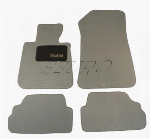 Floor Mat Set (gray) - Genuine Bmw 82112293416