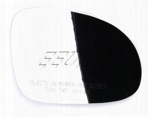 Side Mirror Glass - Driver Side - Genuine Vw 5m0857521d