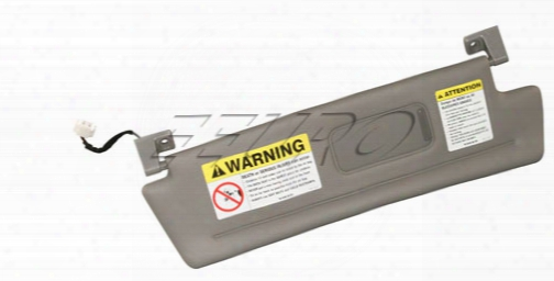 Sun Visor - Passenger Side (granite) - Genuine Volvo 30673361