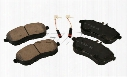 Disc Brake Pad Set - Front - Akebono EUR1340 Mercedes 0074205720