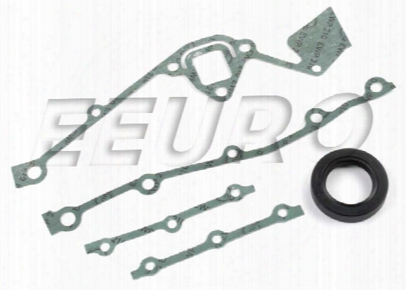 Timing Cover Gasket Set - Elring 817368 Bmw 11141727986