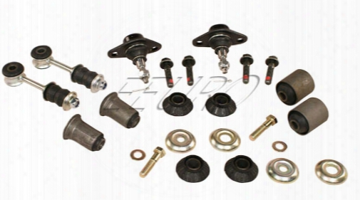 Volvo Suspension Bushing Kit - Front (steel) - Eeuroparts.com Kit