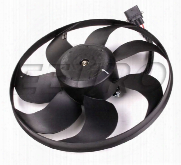 Auxiliary Cooling Fan Assembly - Driver Side (345mm) - Uro Parts 1j0959455s