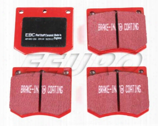 Disc Brake Pad Set - Front - Ebc Redstuffs Dp3291c Saab 8993263