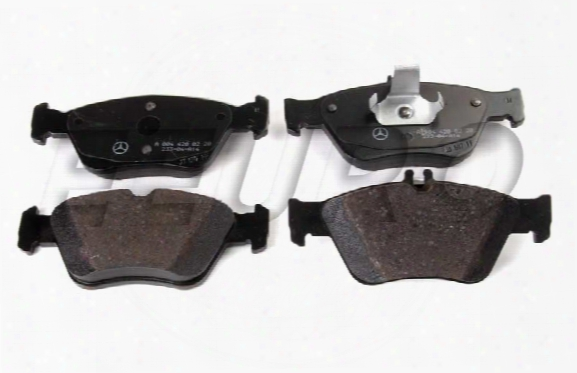 Disc Brake Pad Set - Front - Genuine Mercedes 004420022041