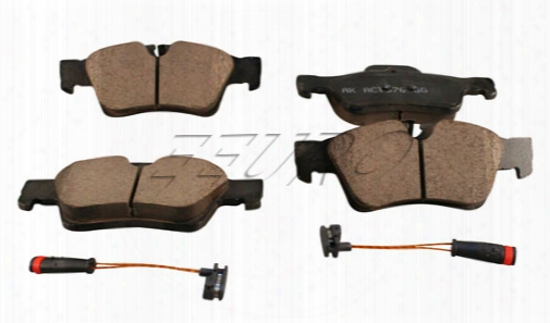 Disc Brake Pad Set - Rear - Akebono Eur1122 Mercedes 1644202720