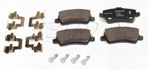 Disc Brake Pad Set - Rear (w/ Epb) - Genuine Volvo 30671575